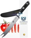 "Dalstrong Tomato Slicer Knife - Gladiator Series - German HC Steel - 5"" - Serrated Utility"