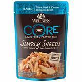 Wellness CORE Simply Shreds, Tuna, Beef & Carrots