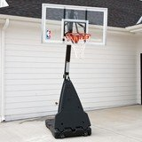 "Spalding Pro Style 54"" Acrylic Portable Basketball Hoop System"