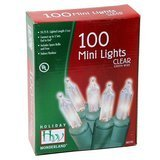 Noma/Inliten Holiday Wonderland 100-Count Clear Christmas Light Set