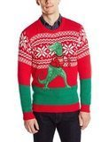 Blizzard Bay Trex Hates Sweater Ugly Christmas Sweater