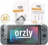 ORZLY Nintendo Switch Tempered Glass Screen Protectors, 2-pack