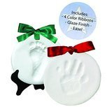 Casting Keepsakes Proud Baby Deluxe Clay Hand Print & Footprint Keepsake Kit