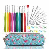 Woo Crafts Crochet Hooks Set with Case