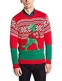 Blizzard Bay Men's T Rex Ugly Christmas Sweater