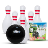 Perfect Life Ideas Inflatable Bowling  Set