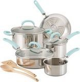 Rachael Ray 10-Piece Stainless Steel Set