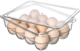 Ambergron Stackable Egg Holder Organizer