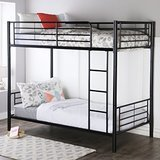 Walker Edison Furniture Company Twin-Over-Twin Bunk Beds