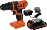 BLACK+DECKER 20-Volt MAX Lithium-Ion Drill/Driver