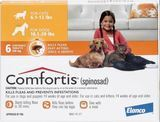Comfortis Chewable Tablets for Cats 6.1-12 lbs