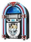 Innovative Technology Victrola Retro Desktop Jukebox