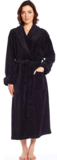 Leveret Women's Robe Soft Micro Fleece