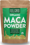 Feel Good Organics Organic Raw Maca Powder