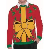 Forum Novelties All Wrapped Up Ugly Christmas Sweater