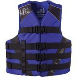 Absolute Outdoor Full Throttle Adult Dual-Sized Nylon Water Sports Vest