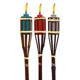 Lamplight Farms Bamboo Torches – Assorted Macedonia Colors