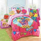 Moose Shopkins Kids 5-Piece Bed in a Bag