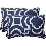 Pillow Perfect Carmody Corded Rectangular Throw Pillow