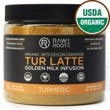 Raw and Root Tur Latte - Organic Tumeric Latte Mix
