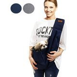 RETRO PUG Pet Sling Carrier Bag