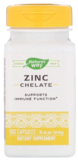 Nature's Way Zinc Chelate Capsules