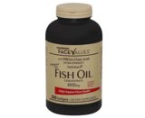 Harmon Face Values Extra-Strength Natural Fish Oil Concentrate Softgels