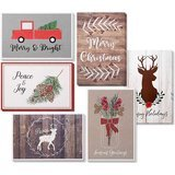 Sustainable Greetings 48-Pack Merry Christmas Holiday Greeting Card