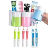 Warmlife Anti-Dust Wall-Mounted Toothbrush Holder