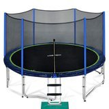 Zupapa 15-Foot Trampoline with enclosure